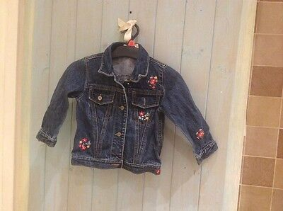 Girls GAP Denim Jacket Age 2ys