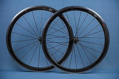 3T Accelero 40 Team Carbon Clincher Road Wheelset 700c Shimano 11 Speed