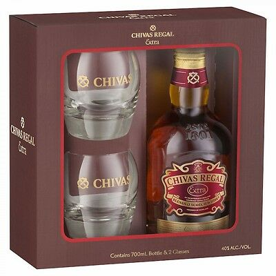Chivas Regal Extra With 2 Glasses Gift Pack 700mL