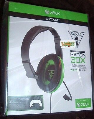 Turtle Beach Recon 30X Chat Headset - PS4, Xbox One S , Xbox One & PC