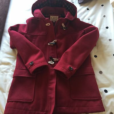 Marks And Spencer Girls Duffle Coat Age 13 To 14 Years