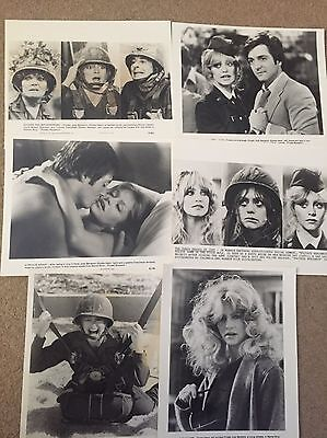 6 X original Promotional Photos from 'Private Benjamin' Starring Goldie Hawn