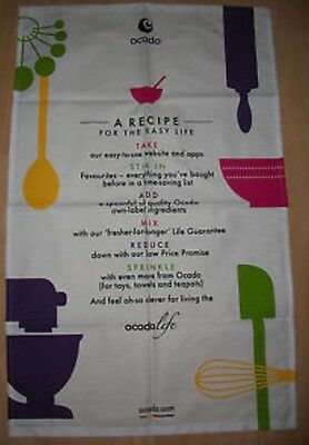 ocado tea towel