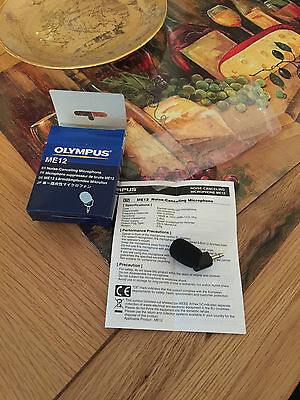 Olympus ME-12 Noise Cancelling Microphone  New without tags
