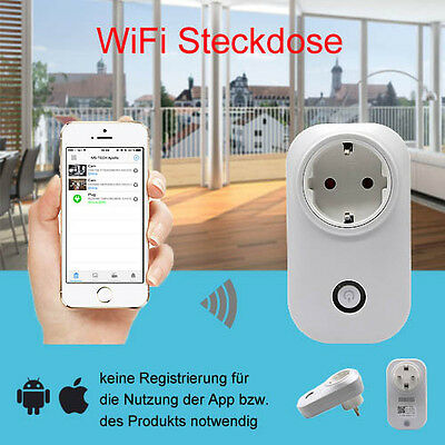 Wlan IP Steckdose Smart Home WIFI Apollo Series App Android iOS MSL-50