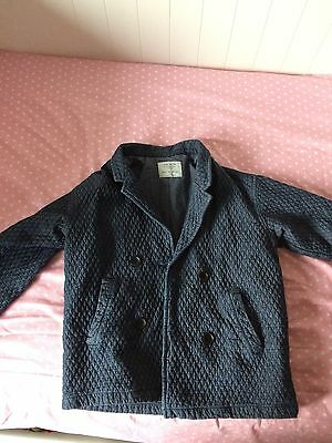 Girls Quilted Pea Coat