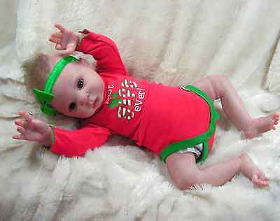 Reborn Christmas Baby Doll Willow Flower *special for holidays*
