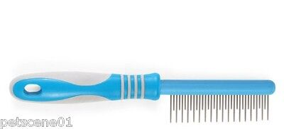 Ancol Ergo Dog Moulting Comb Removes Dead Hair For Curly Wiry Long Silky 431500