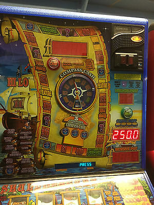 Skullduggery Club, Empire Fruit Machine 25p Play £250 Jackpot (Delivery £55)