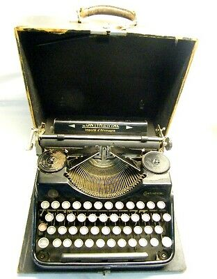 Antigua Maquina Escribir Continental 1929 Alemana Rare Old German Typewriter