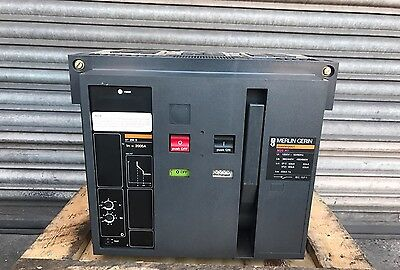 Merlin Gerin Masterpact M20 H1 2000Amp Circuit Breaker With ST 208 D Trip MCCB