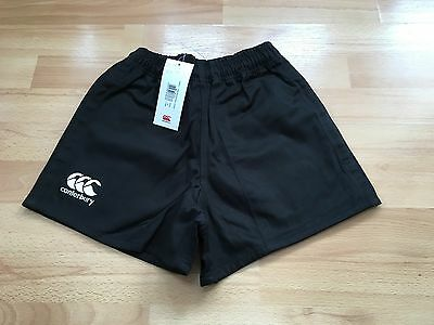 Bnwt-Canterbury Professional Short Rugby Shorts In Black Size 38,30 & 24
