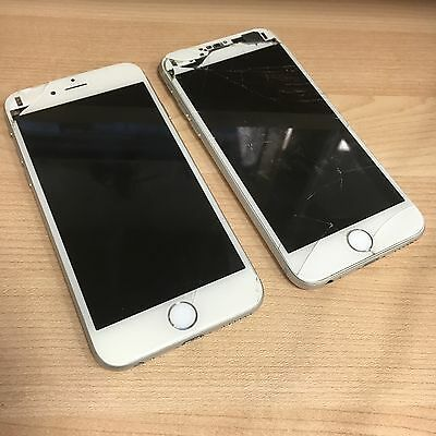 2 x iPhone 6 A1586 spares and repairs