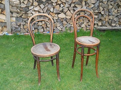 Two Thonet Bentwood Chairs