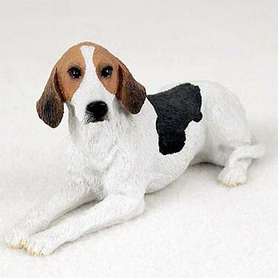 American Fox Hound Hand Painted Collectible Dog Figurine