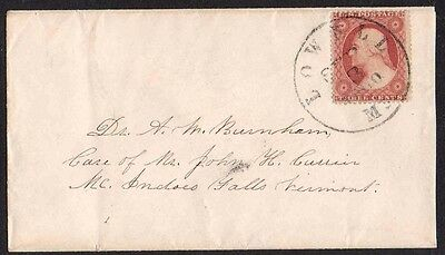 "United States ""Civil War Era"" Letter Cover 1860"