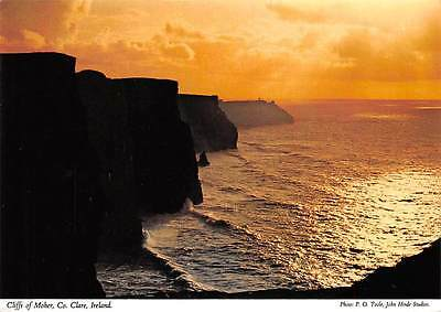 Cliffs of Moher Co Clare Sunset