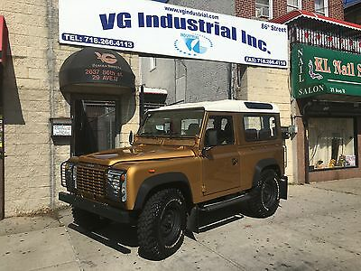 1986 Land Rover Defender 90 1986 Land Rover Defender 90 *** Powerful V8 and Left Hand Drive *** Clean Beauty