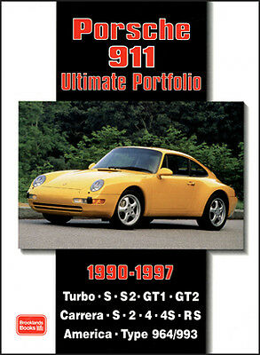 Porsche 911 Turbo 964 993 Carrera RUF 90-97 Buyer's Guide Reviews PO90UP NEW
