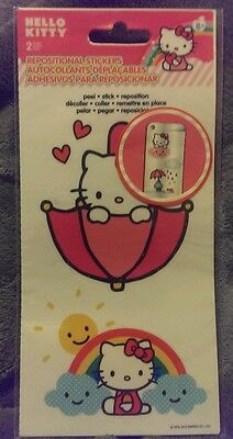 Hello kitty repositional stickers
