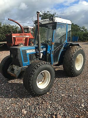 New Holland 4135 Tractor 4wd Ford 4135 Grass Tyres