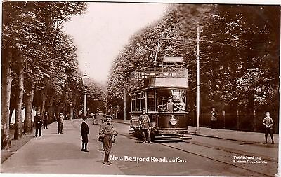 Superb Tram - New Bedford Road - Luton - Bedfordshire - Rp By T Marston