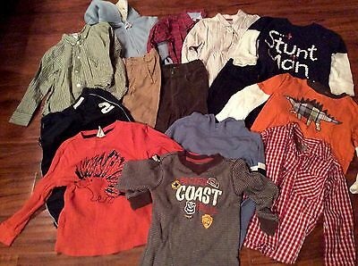 Awesome Lot Of Boys Clothes Size 4, Gymboree, GAP And More! 14 items!
