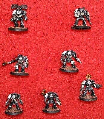 Warhammer 40k Space Marines 8 Terminators
