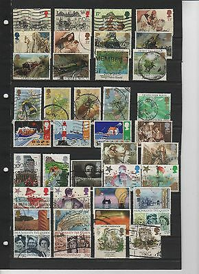 Collection of GB Used stamps 50+ Stamps