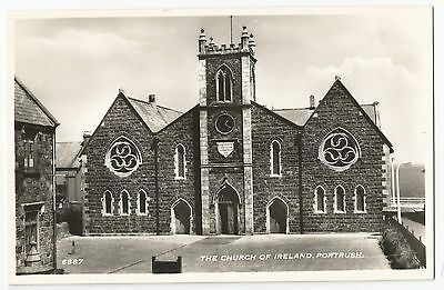 Old Postcard 'The Church of Ireland' Portrush Co Antrim R/P
