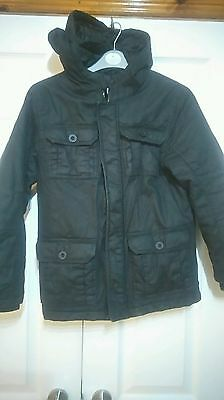 Excellent quality lined winter coat age 9-10