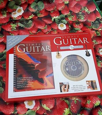 Guitar, Simply Guitar learn to play book and DVD (new)