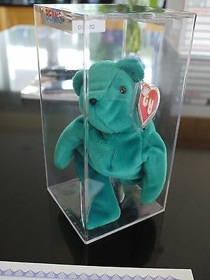 Ty beanie babies / baby bear - Authenticated Old Face Teal 1st & 2nd gen tags