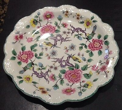 "Vintage Bone China James Kent Old Foley ""chinese Rose"" Plate"