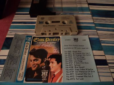 RARE Elvis Presley Inspirations Saudi 747 Cassette Impossible Dream Crying