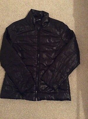 Great condition black girls quilted jacket aged 11 years
