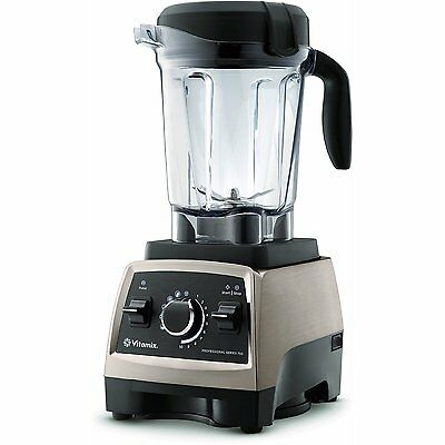 VITAMIX PROFESSIONAL 750 BLENDER in BRUSHED STAINLESS STEEL with 64oz. CONTAINER