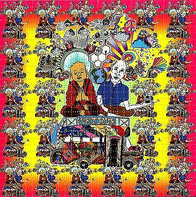 Kesey And Buddha Blotter Art Psychedelic Lsd Acid Free Paper 900 Squares Hofmann