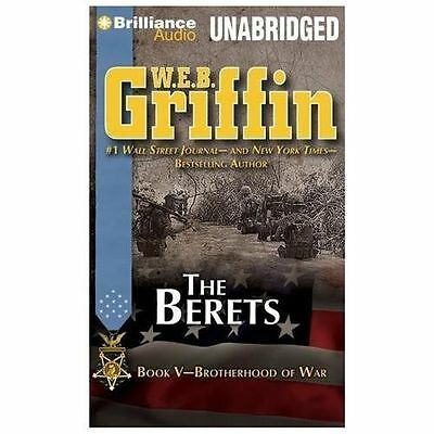 THE BERETS (Brotherhood of War) unabridged audio on MP3 CD by W.E.B. GRIFFIN