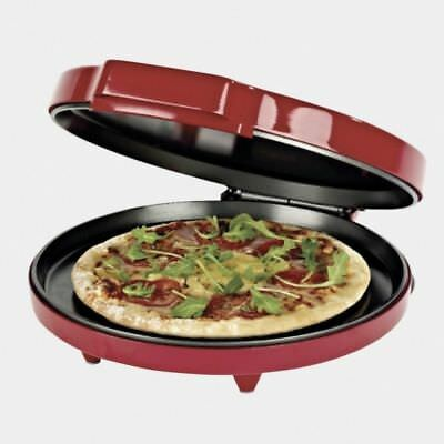 Pizza Omelete Pancake Maker Non-stick Hot Tray Pan Cooker Toaster 1400W/30cm