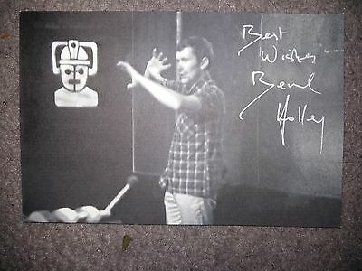 BERNARD HOLLEY - Doctor Dr Who Autograph Signed