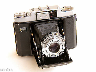 *c1955* ● Zeiss Ikon NETTAX (513/16) f4.5 PRONTOR ● CLA Tested Medium format 6x6