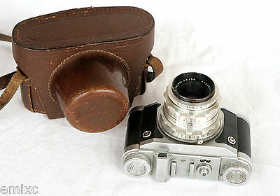 *c1956* ● EHO-Altissa ALTIX 'V'  Zeiss Tessar f2.8 ● Interchangeable lenses 35mm