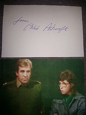 CHLOE ASHCROFT - Doctor Dr Who Autograph Signed