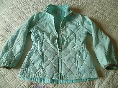 Girls mint green jacket (age 8 yrs)