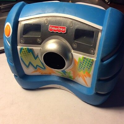 Fisher Price Mattel Kids Toy Digital Camera W/Zoom Feature & has USB Port--Used