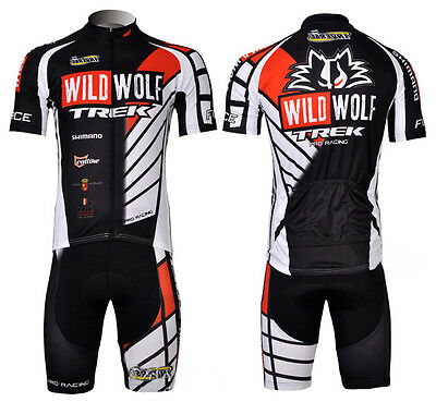 Equipacion bicicleta Wild Wolf maillot culotte mtb ciclismo triatlon spinning