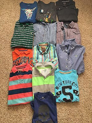 Boys Lot Of Fall/Winter Clothing Size L-XL (14-16) With Three Jackets