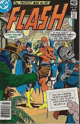 Old DC Comic The Flash #275