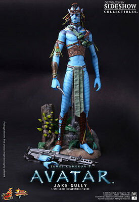 SIDESHOW Hot Toys AVATAR Jake Sully 1:6 Sixth Scale Figure NEW